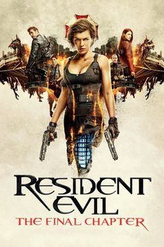 Locandina Resident Evil: The Final Chapter