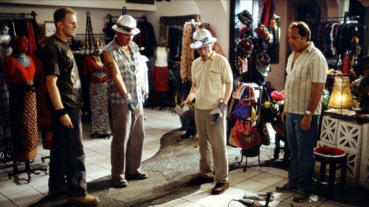 Una scena tratta dal film Criminali da strapazzo
