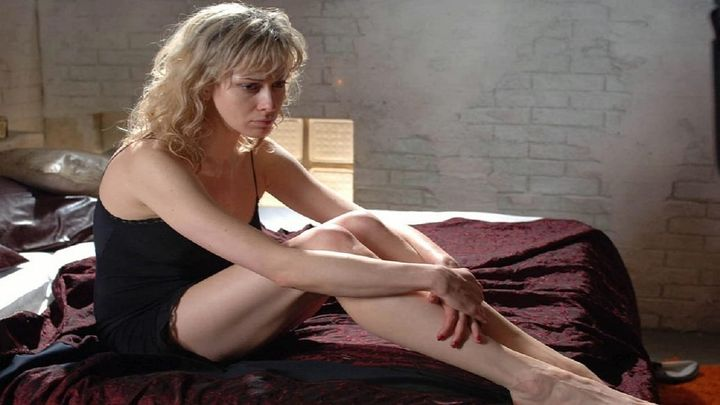 Una scena tratta dal film La Sconosciuta