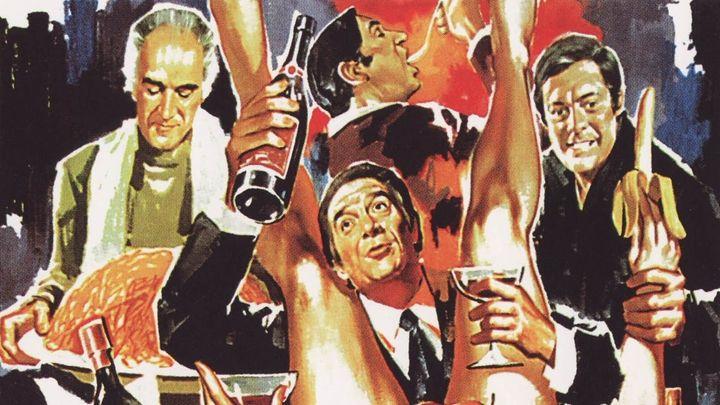 Una scena tratta dal film La Grande Abbuffata