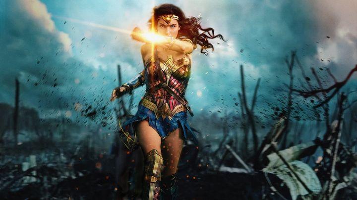 Una scena tratta dal film Wonder Woman