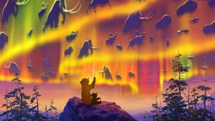 Una scena tratta dal film Koda, fratello orso