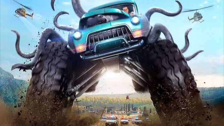 Una scena tratta dal film Monster trucks