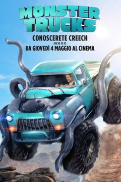 Locandina Monster trucks