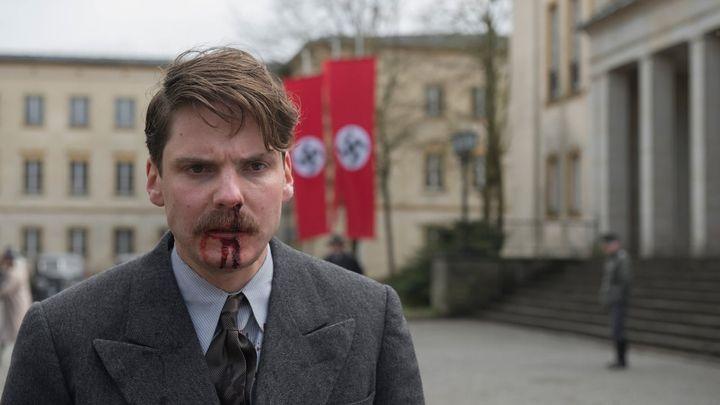 Una scena tratta dal film Lettere da Berlino