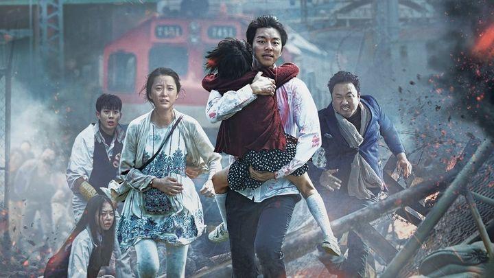 Una scena tratta dal film Train to Busan