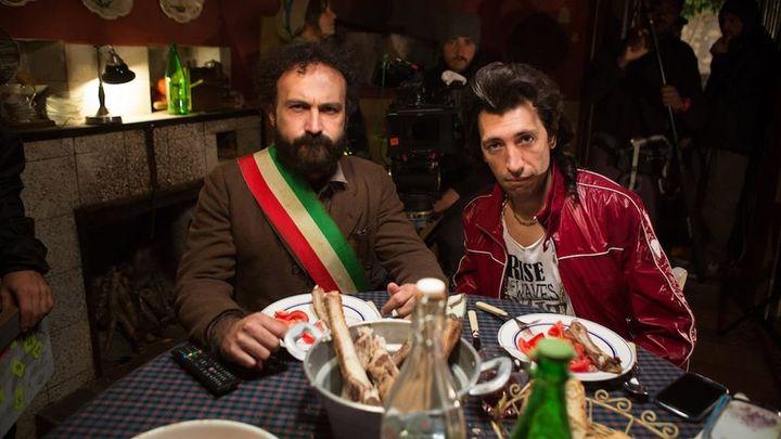 Una scena tratta dal film Omicidio all'italiana
