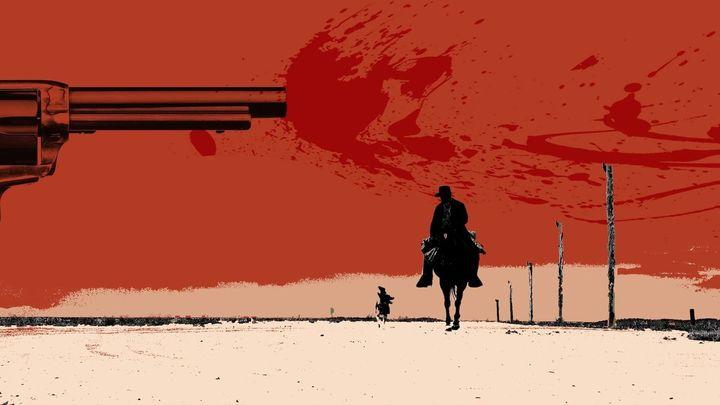 Una scena tratta dal film Nella valle della violenza