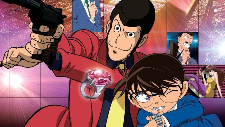 Una scena tratta dal film Lupin III vs Detective Conan
