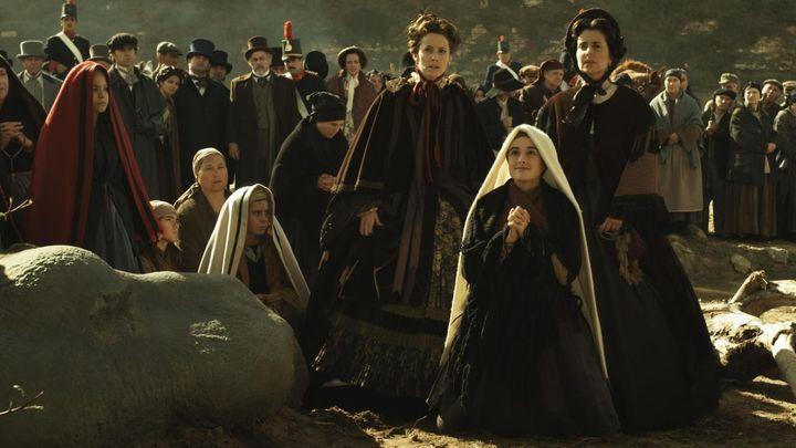 Una scena tratta dal film Bernadette - Miracolo a Lourdes