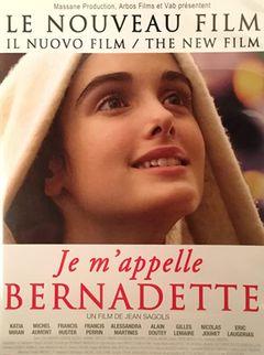 Locandina Bernadette - Miracolo a Lourdes