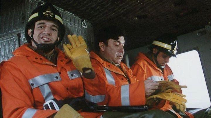 Una scena tratta dal film Missione Eroica - I Pompieri 2