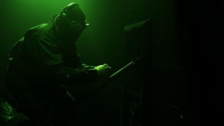 Una scena tratta dal film Maximum Conviction