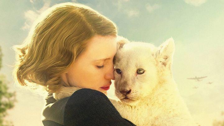 Una scena tratta dal film La signora dello zoo di Varsavia