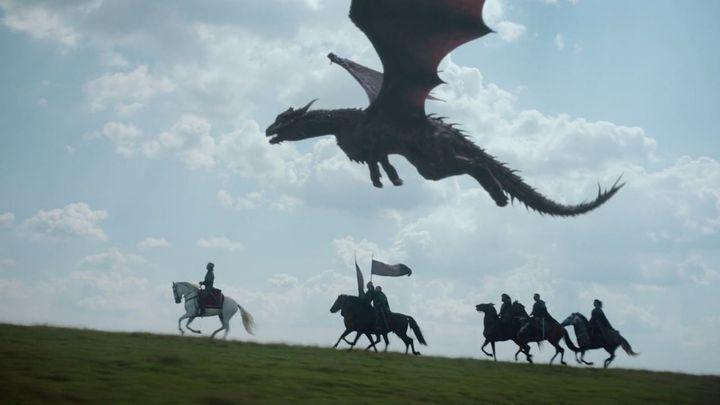 Una scena tratta dal film Dragonheart: Battaglia per il cuore di fuoco