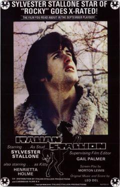 Locandina Italian Stallion - Porno proibito