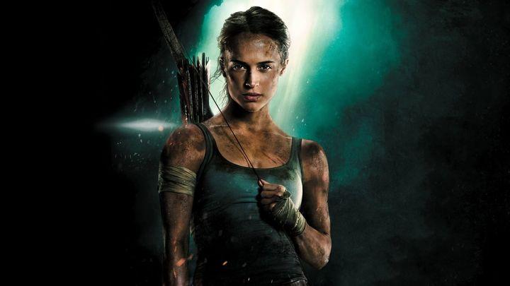 Una scena tratta dal film Tomb Raider