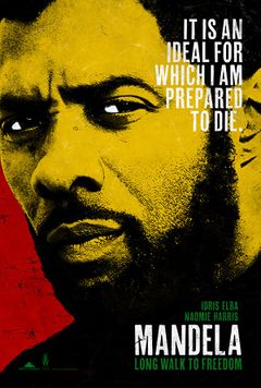 Locandina Mandela: La lunga strada verso la libertà