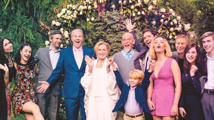 Una scena tratta dal film Matrimonio con l'ex