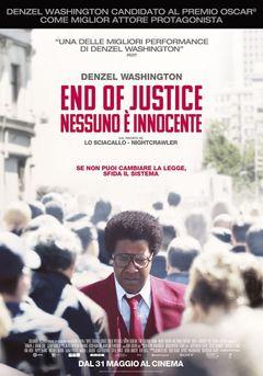 Locandina End of Justice - Nessuno è innocente