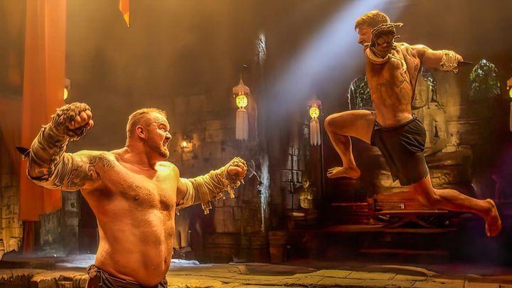 Una scena tratta dal film Kickboxer: retaliation