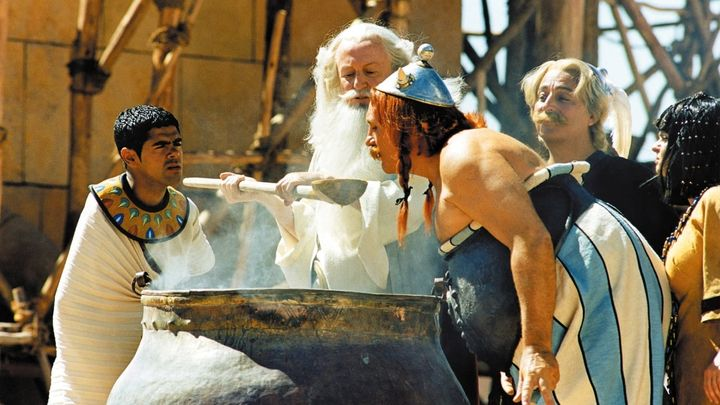 Una scena tratta dal film Asterix & Obelix - Missione Cleopatra