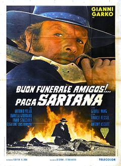 Locandina Buon funerale, amigos!... paga Sartana