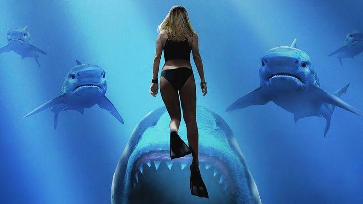 Una scena tratta dal film Blu profondo 2
