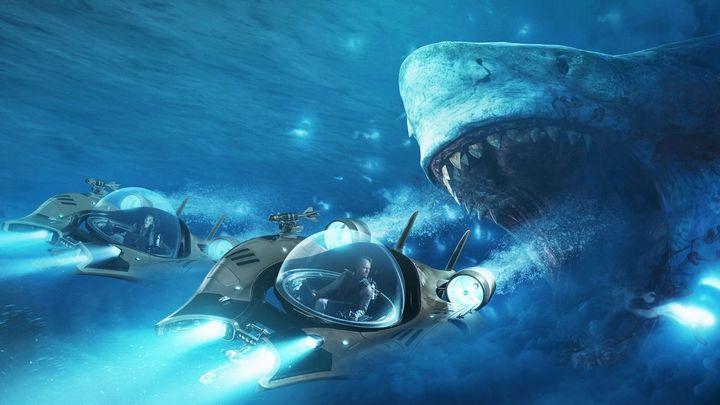 Una scena tratta dal film Shark - Il primo squalo