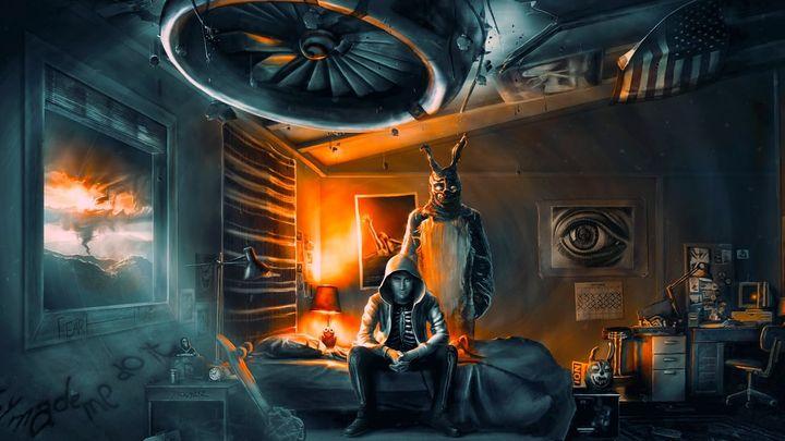 Una scena tratta dal film Donnie Darko