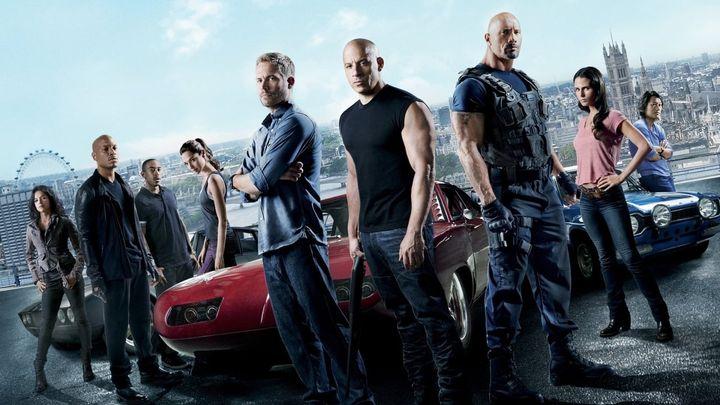 Una scena tratta dal film Fast & Furious 6