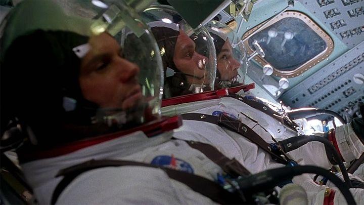 Una scena tratta dal film Apollo 13