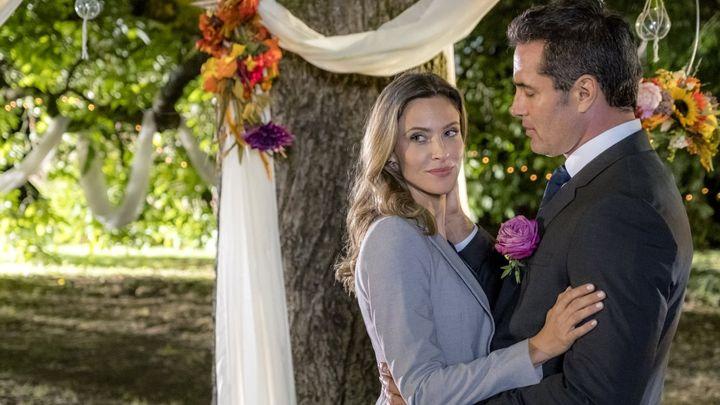 Una scena tratta dal film Un matrimonio in campagna