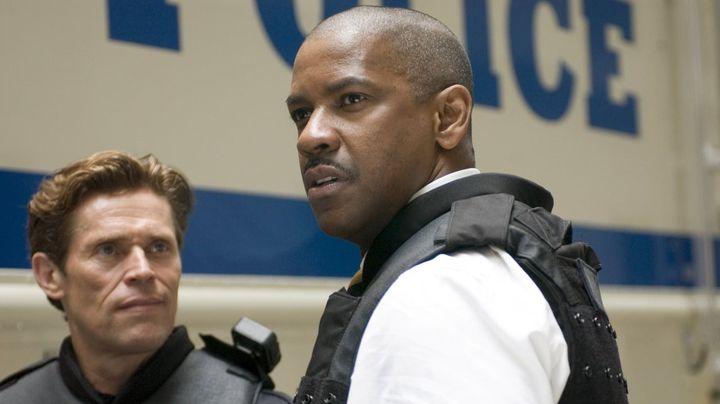 Una scena tratta dal film Inside Man