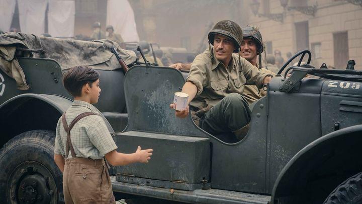 Una scena tratta dal film In guerra per amore