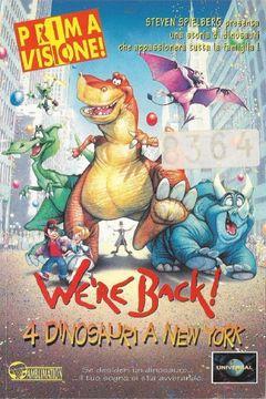 We're Back! - Quattro dinosauri a New York