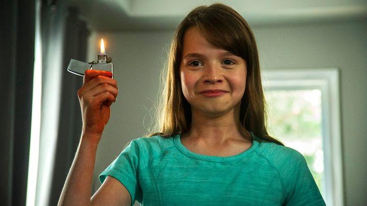 Una scena tratta dal film La piccola Katie