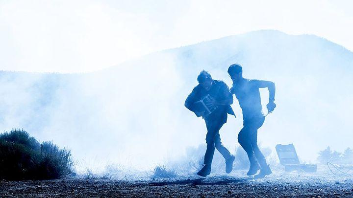 Una scena tratta dal film Shockwave: countdown per il disastro