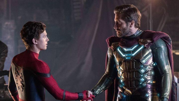Una scena tratta dal film Spider-Man: Far from Home