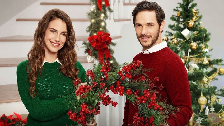 Una scena tratta dal film Natale a Pemberley Manor