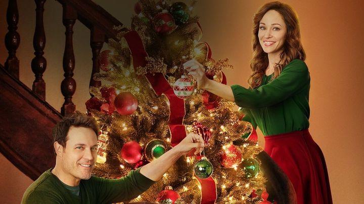 Una scena tratta dal film Natale a Bramble House