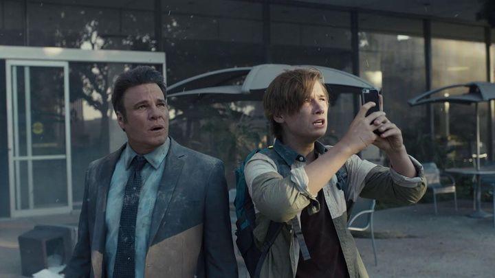 Una scena tratta dal film Destruction: Los Angeles