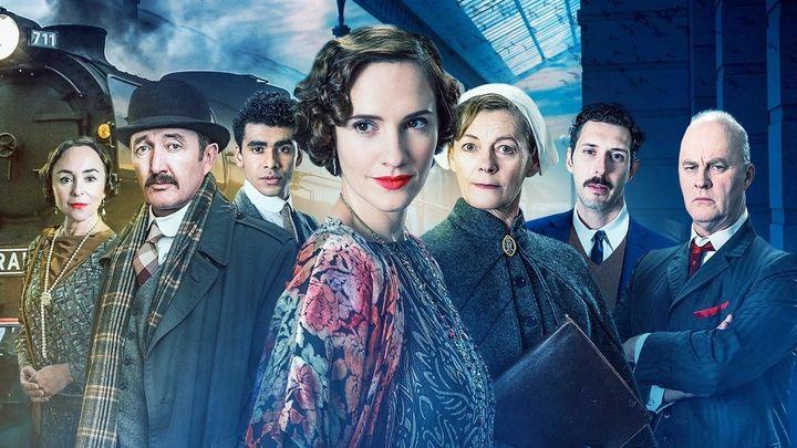 Una scena tratta dal film Agatha e la verità sull'omicidio del treno