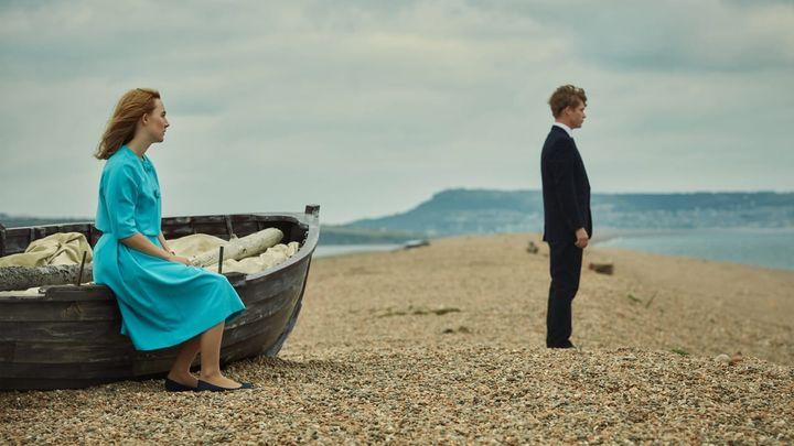 Una scena tratta dal film Chesil Beach - Il segreto di una notte