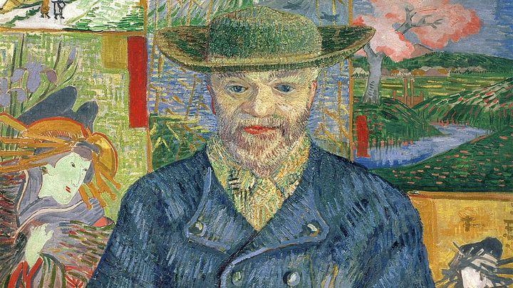 Una scena tratta dal film Van Gogh e il Giappone