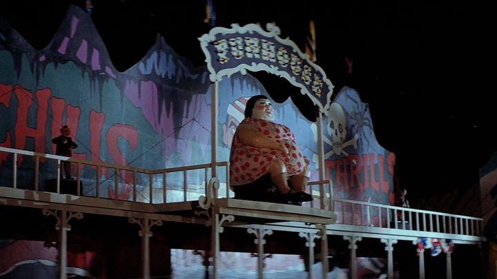 Una scena tratta dal film Il tunnel dell'orrore