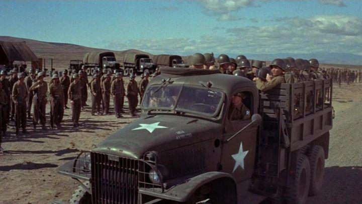 Una scena tratta dal film All'inferno e ritorno