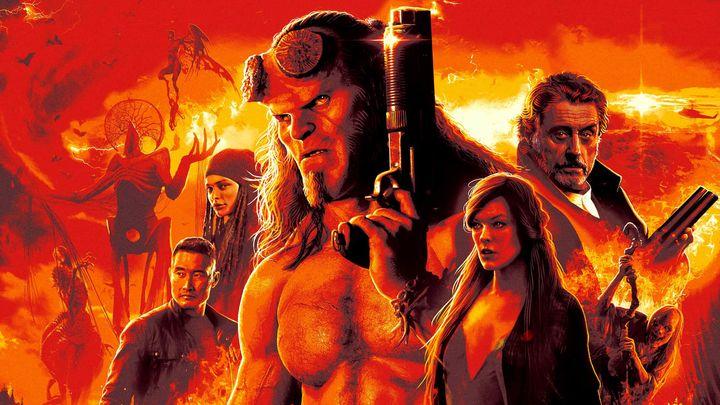 Una scena tratta dal film Hellboy