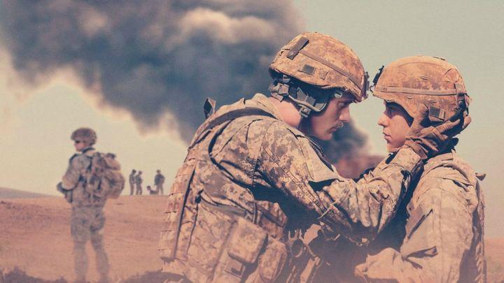 Una scena tratta dal film The Kill Team