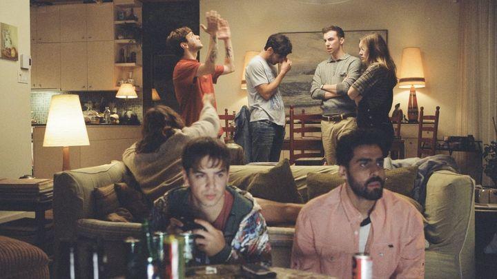 Una scena tratta dal film Matthias & Maxime